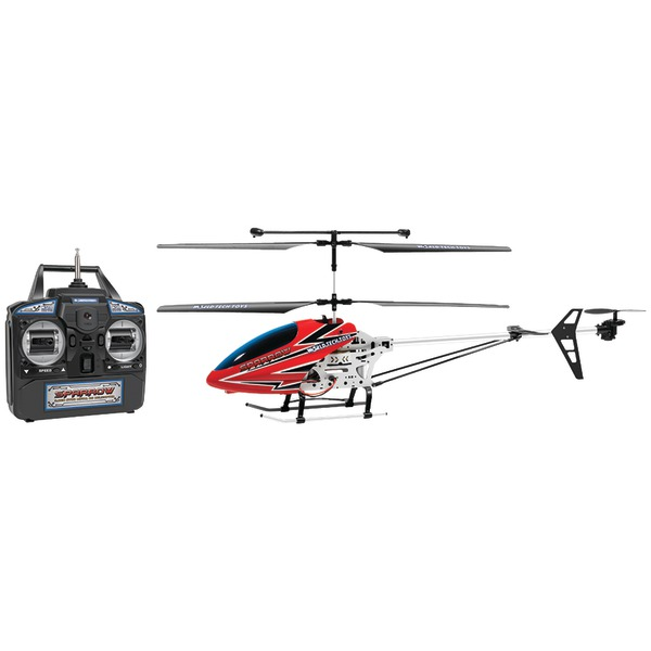 World Tech 35975 3.5-Channel Sparrow RC Gyro Helicopter