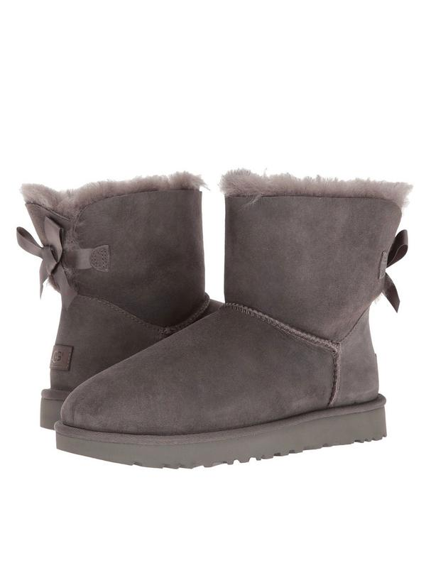 JOY IN LOVE Womens Snow Boots for Winter Mid-Calf high Back Bows
