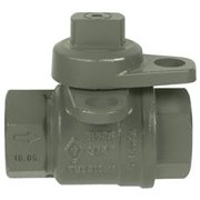 Jomar Lockwing Utility Gas Meter Valve, 3/4 In. Fip