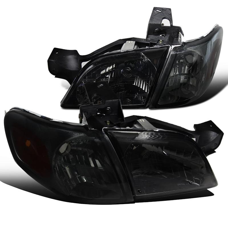 1997-2005 Venture Silhouette Montana Trans Sport Smoke Headlight+Corner Signal Lamps 97 98 99 00 01 02 03 04 05