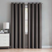 Better Homes and Gardens Diamond Jacquard Grommet Top Window Curtain Panel, Multiple Sizes and Colors Available