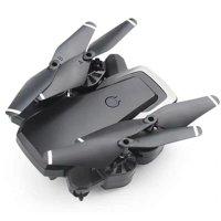 Foldable Mini Fpv Drone Quadcopter NO Camera ,best Drone For Kids Beginners, Trajectory Flight, 3d Flips, Headless Mode (Black)