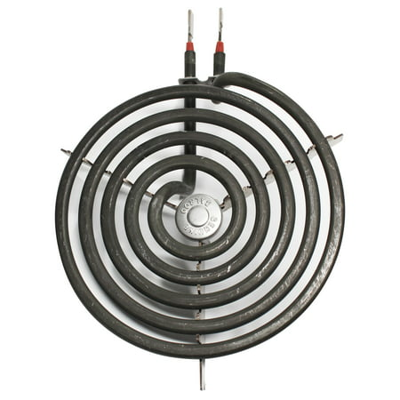 Replacement General Electric JP326CC1CC 6 inch 5 Turns Surface Burner Element - Compatible General Electric WB30M1 Heating Element for Range, Stove & Cooktop