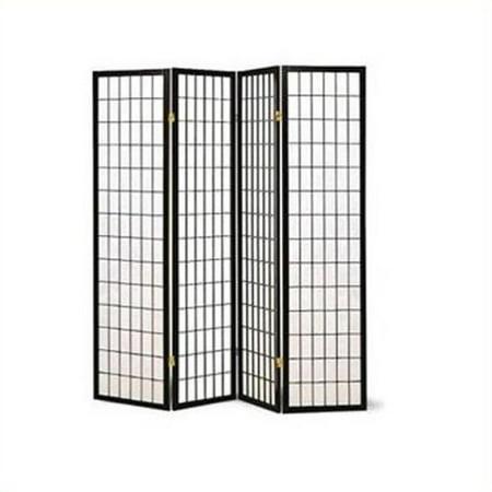 COASTER 3-Panel Black Frame Room Divier, Item# 4624