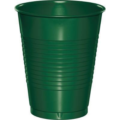 Creative Converting Hunter Green Plastic Cups, 20 ct