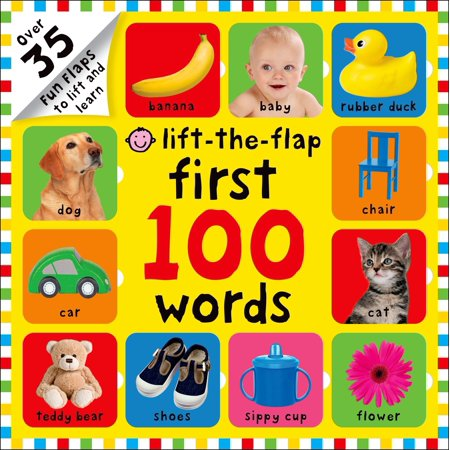 Words To Describe Halloween (First 100 Words Lift-The-Flap: Over 35 Fun Flaps to Lift and Learn (Board)