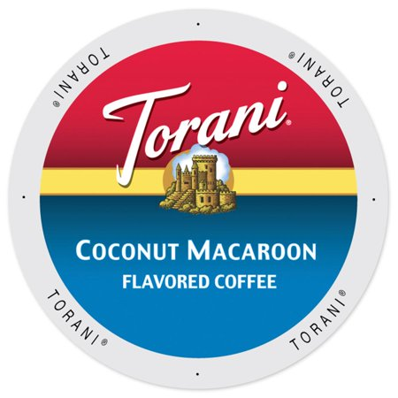 Torani® Coffee Coconut Macaroon, K-Cup Portion Pack For Keurig Brewers (24 Count)