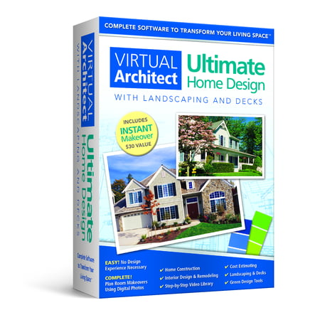 Virtual Matrix Software - Virtual Architect Ultimate Home Design with Landscaping and Decks