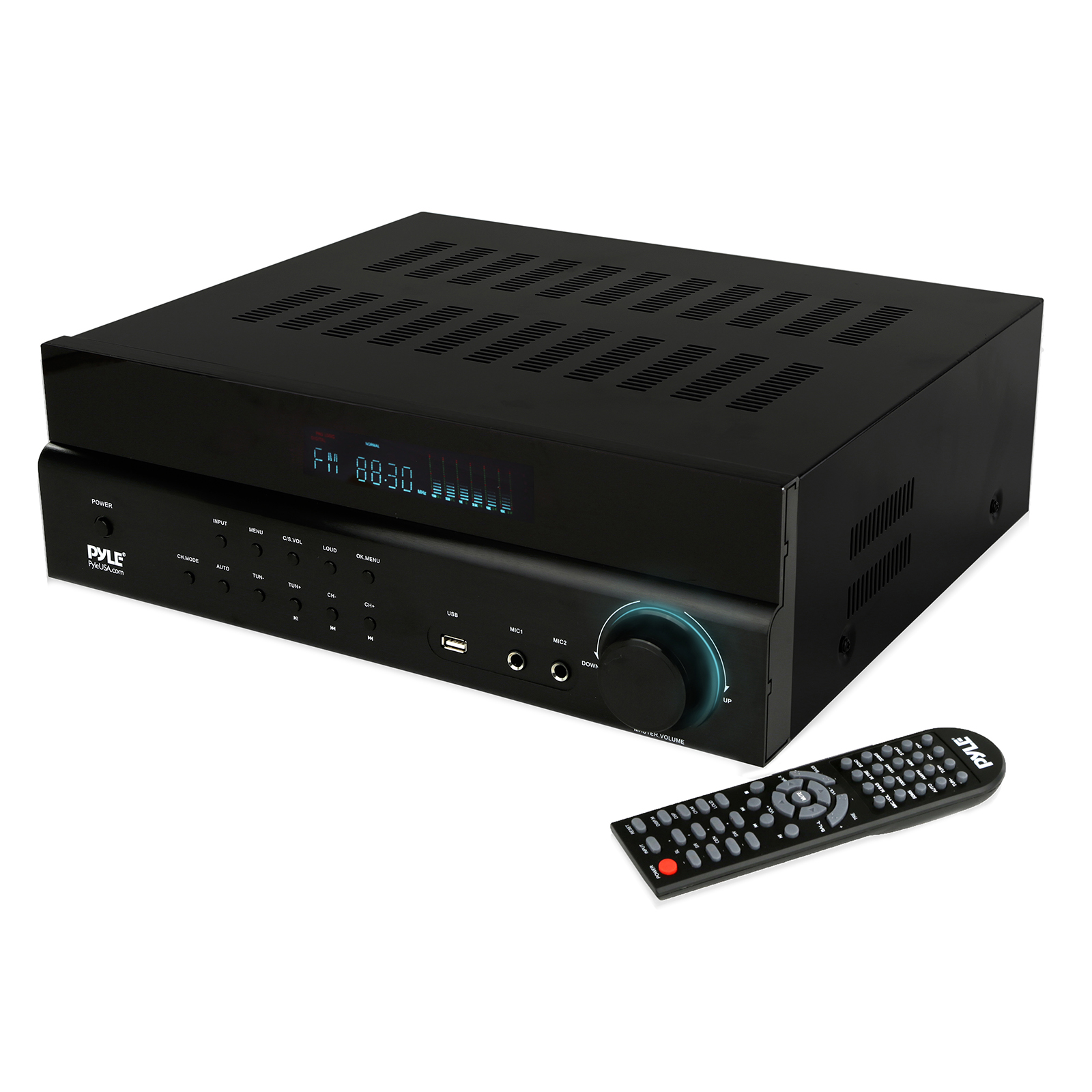 Pyle Home PT684BT Bluetooth Home Theater 5.1-Channel Amp & AM/FM Receiver