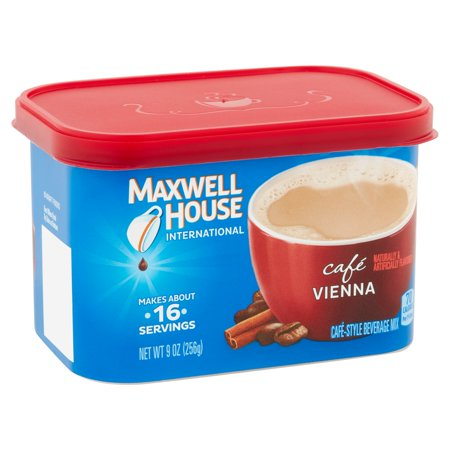Maxwell House International Cafe Vienna Coffee Beverage Mix  9 Oz