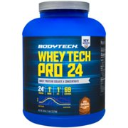 Whey Tech Pro 24 Protein Powder  Protein Enzyme Blend with BCAAs to Fuel Muscle Growth  Recovery, Ideal for PostWorkout Muscle Building  Rich Chocolate (5 Pound) by BodyTech