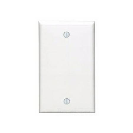- Leviton 80714-GY 1-Gang No Device Blank Wallplate, Standard Size, Thermoplastic Nylon, Box Mount, Gray
