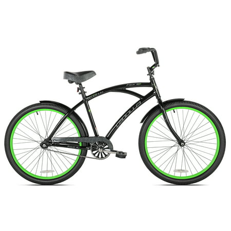 26   Kent La Jolla Mens Cruiser Bike  Black Green
