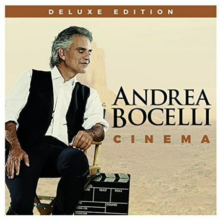 Andrea Bocelli - Cinema (Deluxe Edition) (CD) (65 Deluxe Reverb Vs 68 Deluxe Reverb)