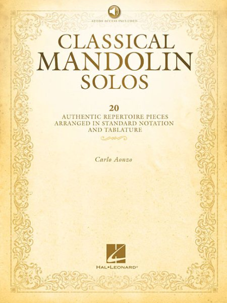 Classical Mandolin Solos by