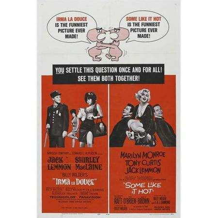 Posterazzi MOVGJ8236 Irma La Douce Movie Poster - 27 x 40 in. - image 1 of 1