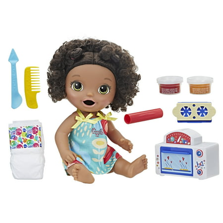 Black Baby Doll Lingerie (Baby Alive Snackin' Treats Baby (Black Curly)