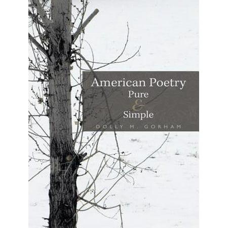 American Poetry Pure & Simple - eBook
