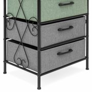 0814d2156a09 Best Choice Products 8-Drawer Storage Organization Tower Cabinet w/ Metal  Frame, Polyester Drawers - Multicolor