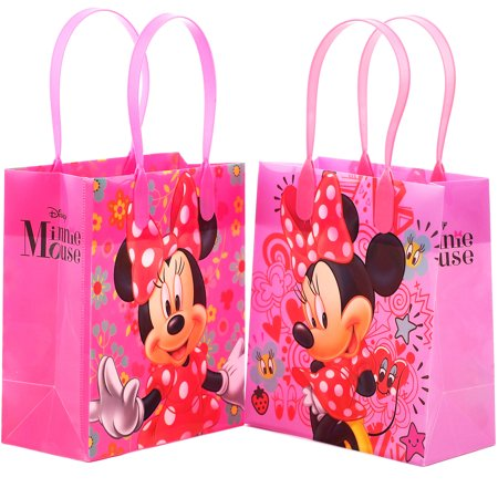 Disney Minnie Mouse Bow 12  Party  Favors Small Goodie Gift Bags 6