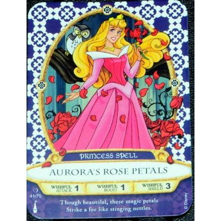 Sorcerers Mask of the Magic Kingdom Game Walt Disney World - Card #41 - Aurora's Rose Petals - image 1 of 1