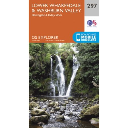 OS Explorer Map (297) Lower Wharfedale and Washburn Valley (Map) ()