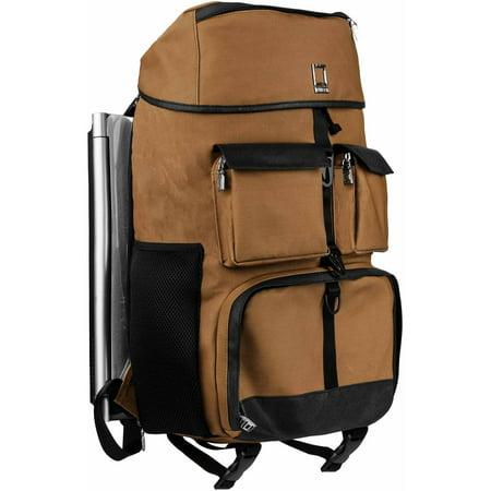 "LENCCA Logan Professional Travel Twill Laptop / Camera Hybrid Backpack Fits up to 17"" Laptops / Ultrabooks"
