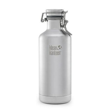 Klean Kanteen 32oz. Lok Cap Growler Insulated Water Bottle 2017