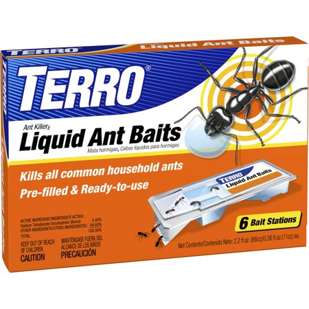 Terro Liquid Ant Baits, 0.36 oz, 6 ct