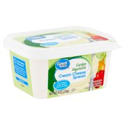 Great Value Garden Vegetable Cream Cheese Spread, 8 oz
