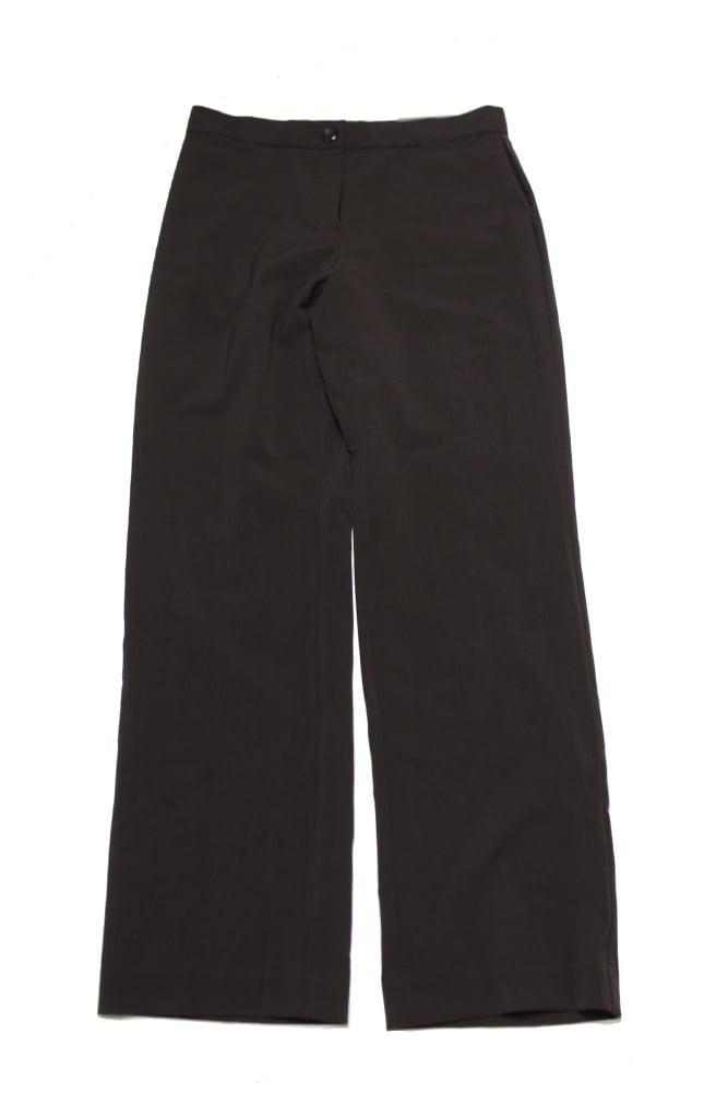 Jm Collection Brown Straight-Leg Pants  8P
