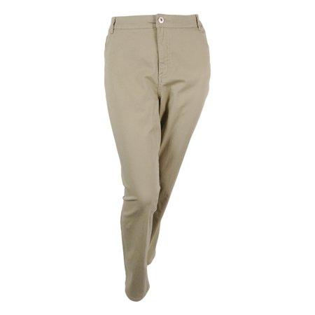 Style & Co. Women's Tummy Control Slim Leg Denim Jeans (22W, French (Style & Co Corduroy)