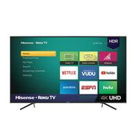 """Hisense 75"""" Class 4K Ultra HD ( 2160P) Roku Smart LED TV (75R6E1)"""