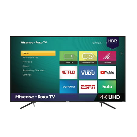 "Hisense 75"" Class 4K Ultra HD ( 2160P) Roku Smart LED TV (75R6E1)"