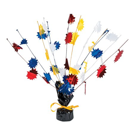 IN-13603100 Superhero Foil Burst 1 - Superhero Centerpieces