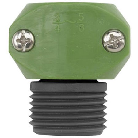 "5/8"" And 3/4"" Poly Male Hose Coupler, Fiskars, 31MGT"