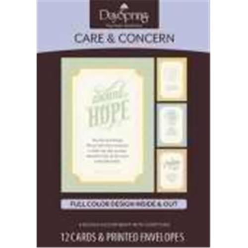 Dayspring Cards 120646 Card Boxed Care & Concern-Hope