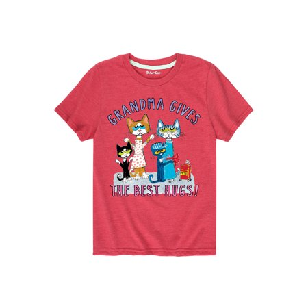 Best Hugs (Pete The Cat Grandma Best Hugs! Toddler - Toddler Short Sleeve Tee)