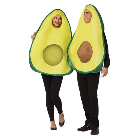 Homemade Couple Costume (Avocado Couple Costume)
