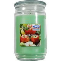 Mainstays Sweet Apple Single-Wick 20 oz. Jar Candle