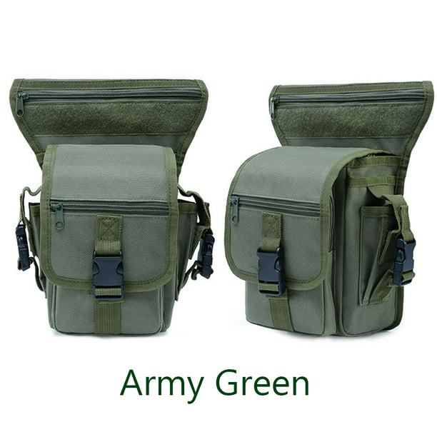 Tactical Military Leg Bag Men/'s Nylon Hip Drop Belt Waist Fanny Pack Waterproof