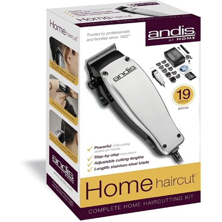 Andis Clippers At Home 19 Piece Complete Home Hair Cutting Kit 1 Ea