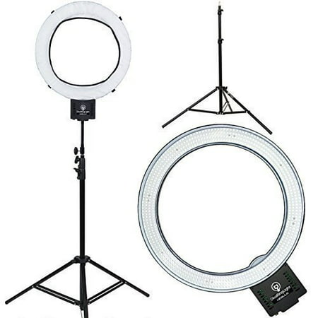 Diva Ring Light Nebula 18  LED Dimmable Photo/Video Ring Light w/ 6' Light Stand - Led Rings