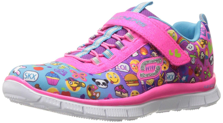 Skechers Kids Girls' Skech Appeal-Pixel Princess Sneaker, Emoji Multi -  Walmart.com