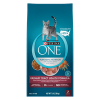 Purina ONE Urinary Tract Health Formula Adult Dry Cat Food, 7 lb