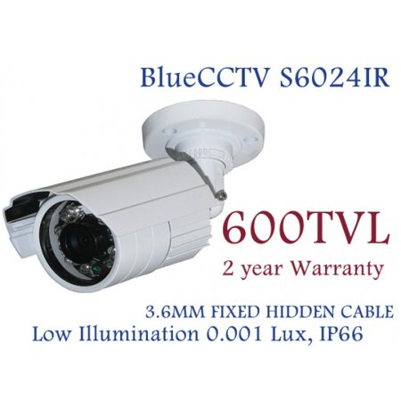 Bluecctv 600TVL Weather Proof IR Night Vision CCTV Security Camera