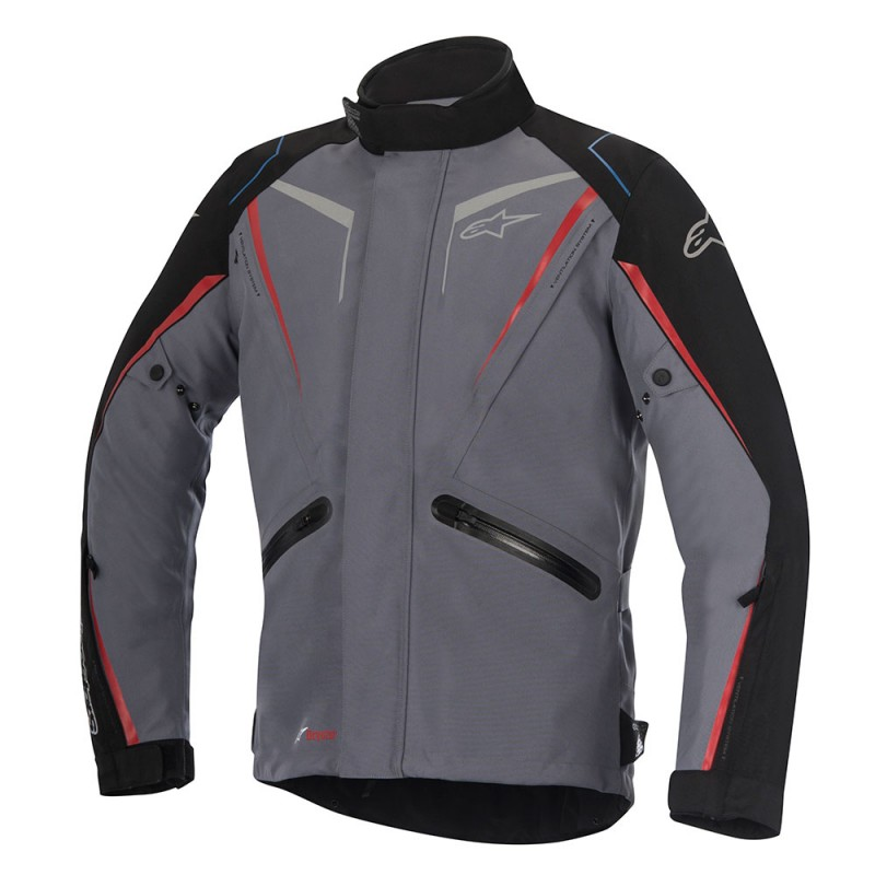 Alpinestars Yokohama Mens Drystar Jacket Gray/Black