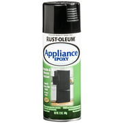 Black, Rust-Oleum Specialty Appliance Epoxy Spray Paint, 12 oz