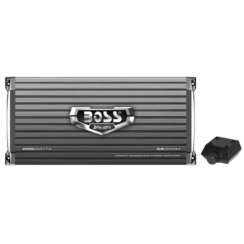 Subwoofer Amplifier Remote Subwoofer Control TOPSTRONGGEAR 1 Ohm 1500 Watts Class D Full Range Mono Amplifier,1//2//4 Ohm Stable