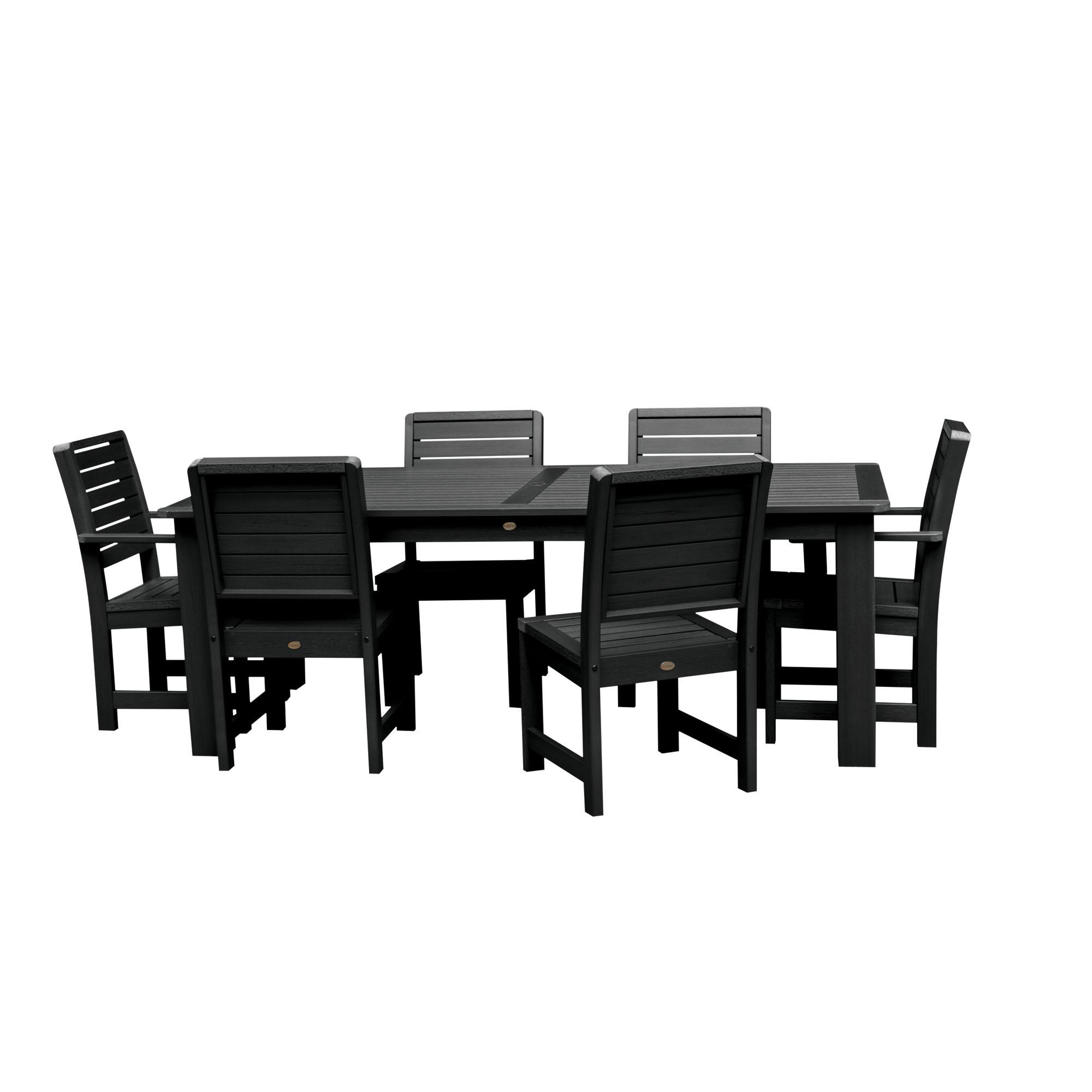 """highwood® Weatherly Eco-Friendly 7pc Rectangular Dining Set 72"""" x 42"""""""